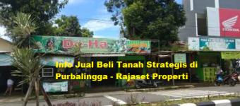 Info Jual Beli Properti Tanah Strategis Purbalingga